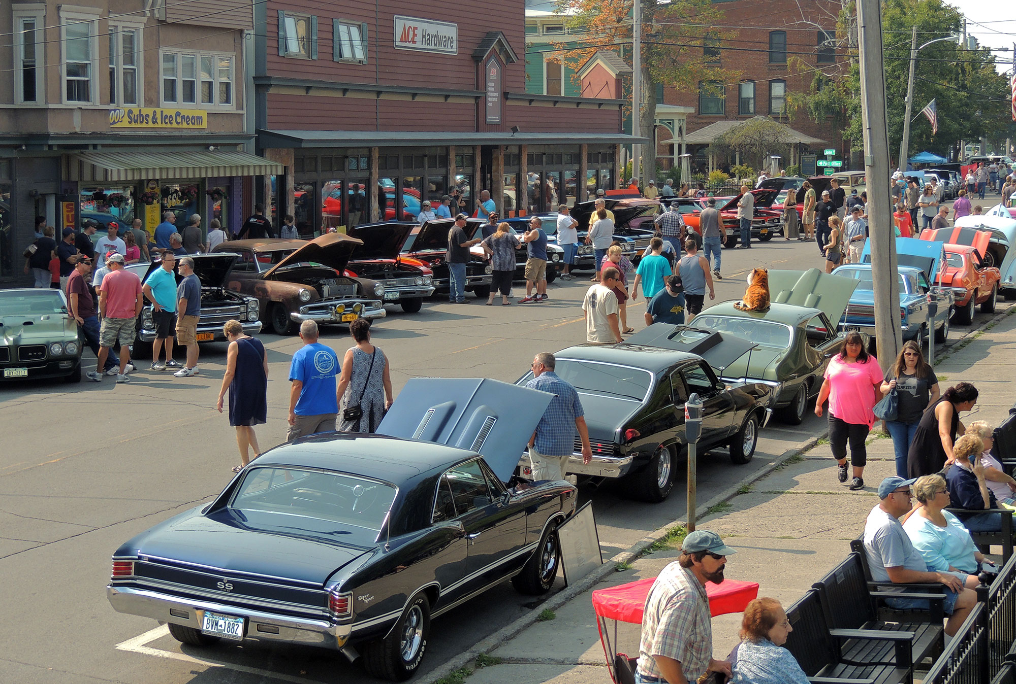 1000 Islands - Clayton Car Show - Vintage & Classic Street Meet ...