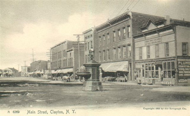 Main Street Clayton NY