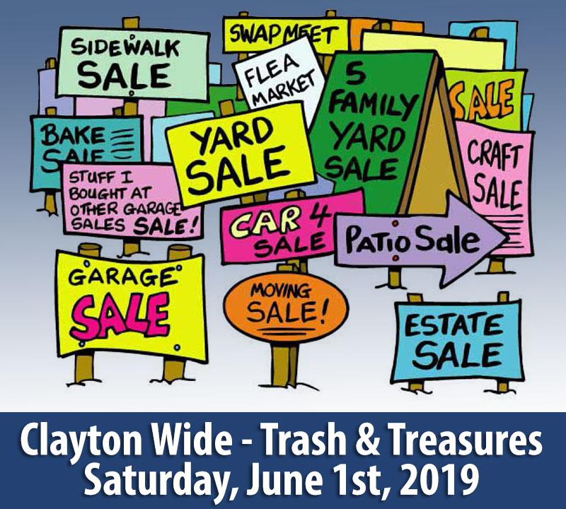Trash & Treasures – Clayton Wide Sales – Thousand Islands
