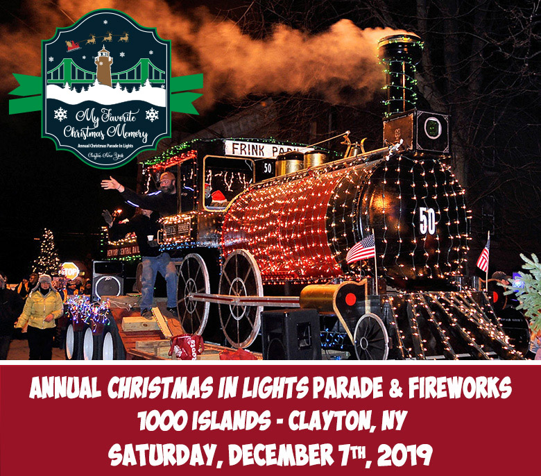 Christmas Ny 2019.2019 Christmas Parade Fireworks Thousand Islands Visit
