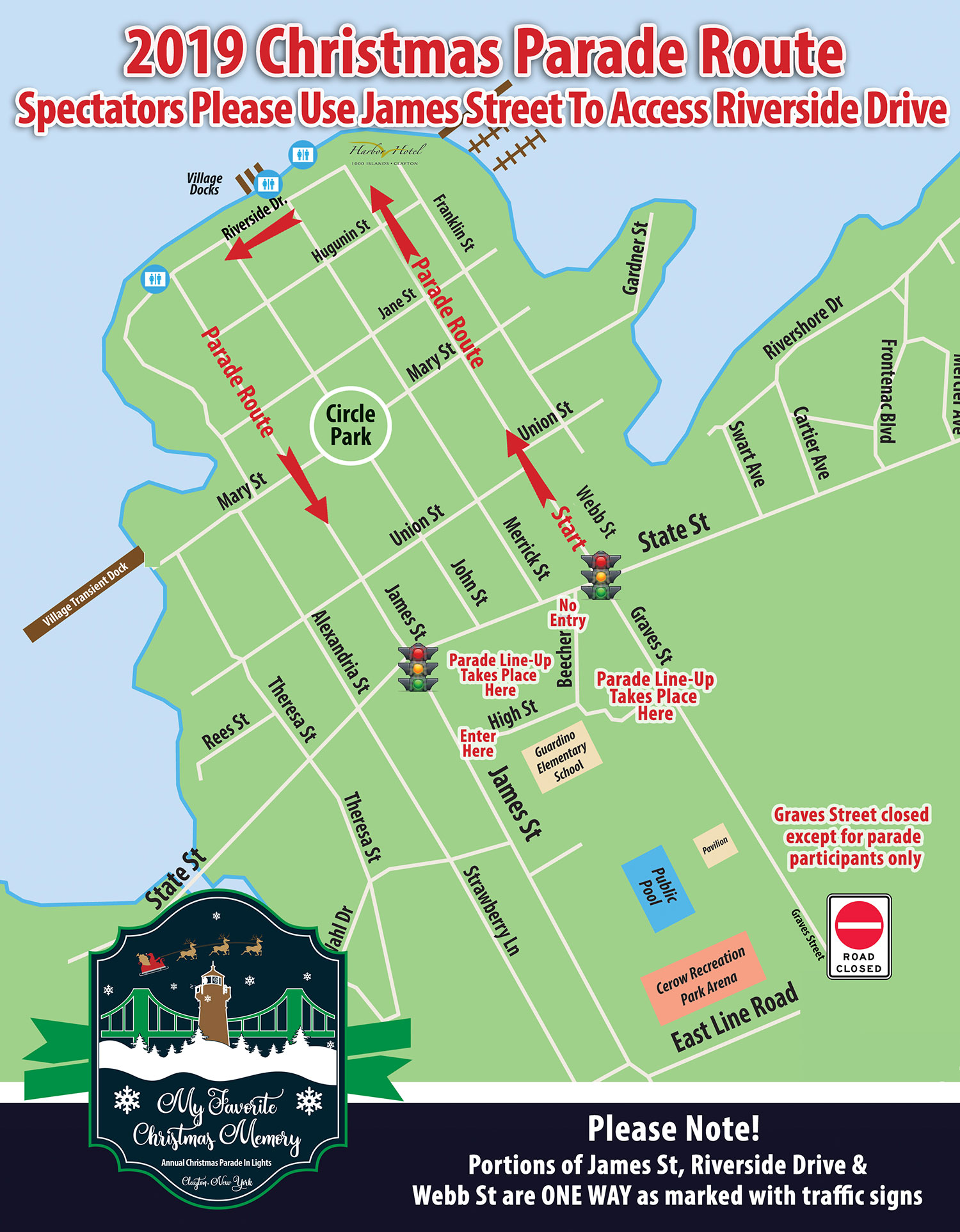 Clayton Christmas Parade 2020 2019 Christmas Parade In Lights & Fireworks – Thousand Islands